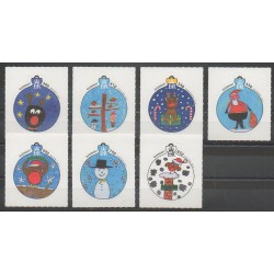 Guernsey - 2014 - Nb 1508/1514 - Children's drawings - Christmas