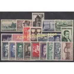 France - 1952 - Nb 919/939