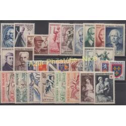 France - 1953 - Nb 940/967