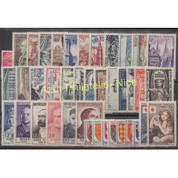 France - 1954 - Nb 968/1007