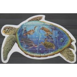 Nouvelle-Calédonie - 2003 - No BF30 - Reptiles - Philatélie