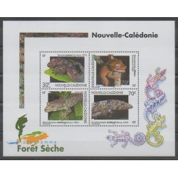 New Caledonia - Blocks and sheets - 2003 - Nb BF29 - Reptils