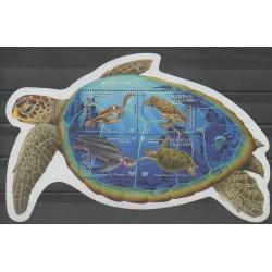 Nouvelle-Calédonie - Blocs et feuillets - 2002 - No BF27 - Reptiles
