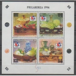 New Caledonia - Blocks and sheets - 1994 - Nb BF17 - Gastronomy - Philately