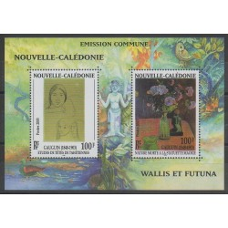 New Caledonia - Blocks and sheets - 2003 - Nb BF28 - Paintings