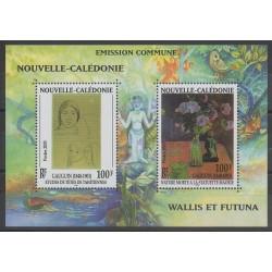 Nouvelle-Calédonie - 2003 - No BF28 - Peinture