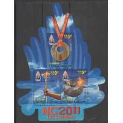 Nouvelle-Calédonie - 2011 - No BF44 - Sports divers