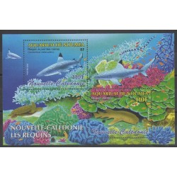 New Caledonia - Blocks and sheets - 2005 - Nb BF35 - Sea animals