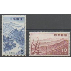 Japon - 1955 - No 562/563 - Sites
