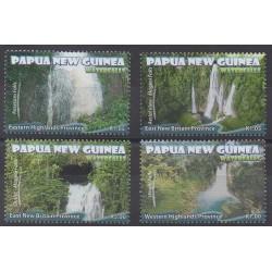 Papouasie-Nouvelle-Guinée - 2011 - No 1451/1454 - Sites