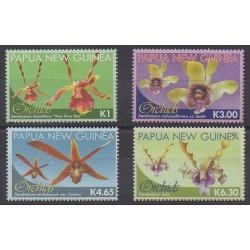 Papouasie-Nouvelle-Guinée - 2010 - No 1383/1386 - Orchidées