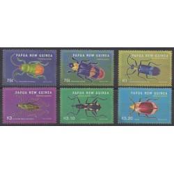 Papouasie-Nouvelle-Guinée - 2005 - No 1061/1066 - Insectes