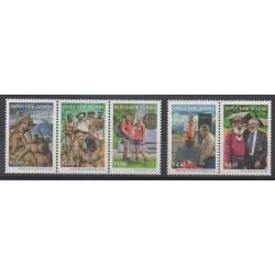 Papouasie-Nouvelle-Guinée - 2010 - No 1355/1358A - Seconde Guerre Mondiale