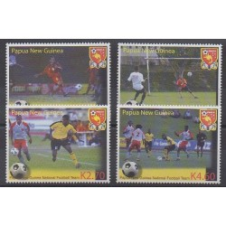 Papua New Guinea - 2004 - Nb 1008/1011 - Football