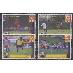 Papua New Guinea - 2004 - Nb 1008/1011 - Football