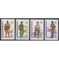 Papua New Guinea - 1992 - Nb 659/662 - Second World War
