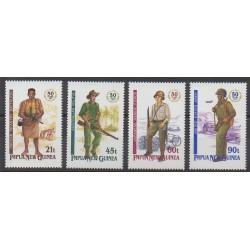 Papouasie-Nouvelle-Guinée - 1992 - No 659/662 - Seconde Guerre Mondiale