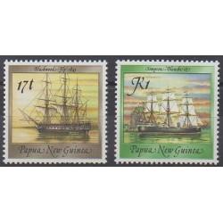 Papouasie-Nouvelle-Guinée - 1988 - No 560/561 - Navigation