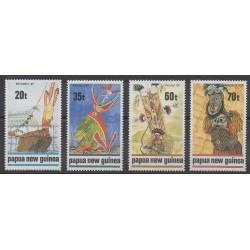 Papouasie-Nouvelle-Guinée - 1989 - No 597/600 - Art