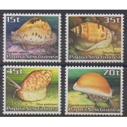 Papouasie-Nouvelle-Guinée - 1986 - No 511/514 - Animaux marins