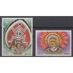 Papouasie-Nouvelle-Guinée - 1977 - No 318/319 - Costumes