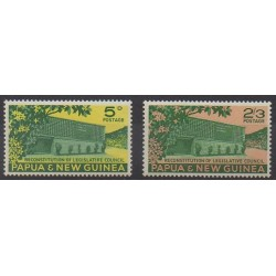 Papua New Guinea - 1961 - Nb 42/43 - Monuments