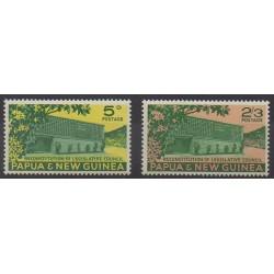 Papouasie-Nouvelle-Guinée - 1961 - No 42/43 - Monuments