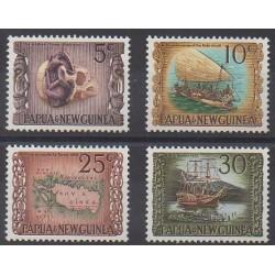 Papouasie-Nouvelle-Guinée - 1970 - No 170/173 - Navigation - Histoire