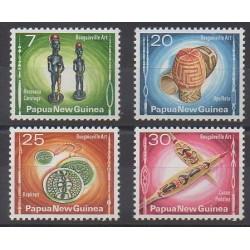 Papouasie-Nouvelle-Guinée - 1976 - No 301/304 - Artisanat