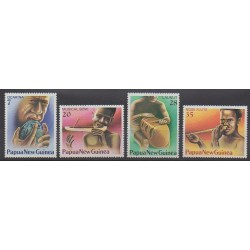 Papua New Guinea - 1978 - Nb 359/362 - Music