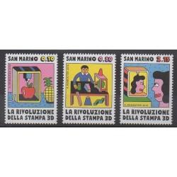 Saint-Marin - 2015 - No 2417/2419 - Sciences et Techniques