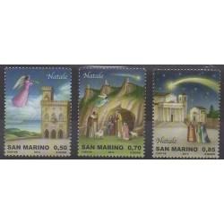 San Marino - 2014 - Nb 2407/2409 - Christmas