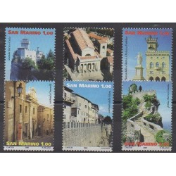 San Marino - 2008 - Nb 2156/2161 - Monuments