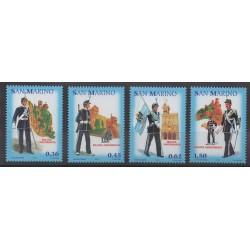San Marino - 2005 - Nb 1991/1994 - Military history