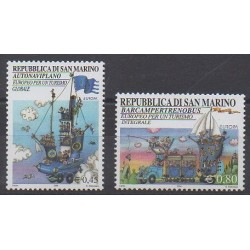 San Marino - 2004 - Nb 1941/1942 - Tourism - Europa