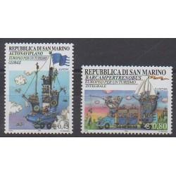 Saint-Marin - 2004 - No 1941/1942 - Tourisme - Europa