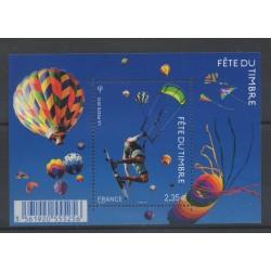 France - Blocs et feuillets - 2013 - No F 4810 - Ballons - Dirigeables