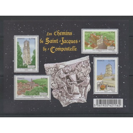 France - Blocks and sheets - 2012 - Nb F 4641 - Various Religions