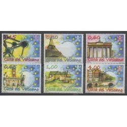 Vatican - 2007 - No 1438/1443 - Histoire