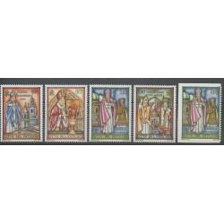Vatican - 2007 - Nb 1446/1450 - Pope