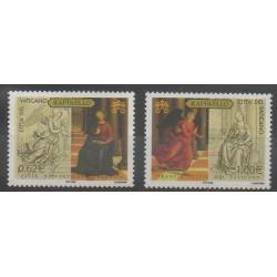 Vatican - 2005 - No 1387/1388 - Peinture