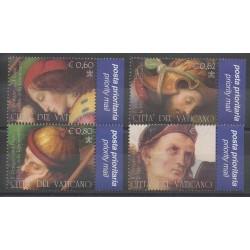 Vatican - 2005 - No 1370/1373 - Peinture