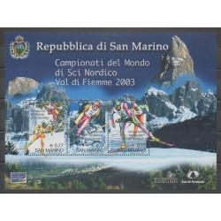 San Marino - 2003 - Nb BF34 - Various sports