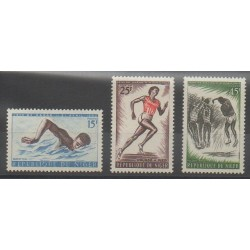 Niger - 1963 - No 120/122 - Sports divers