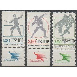 Israel - 1977 - Nb 642/644 - Various sports