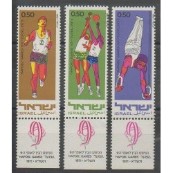 Israël - 1971 - No 445/447 - Sports divers
