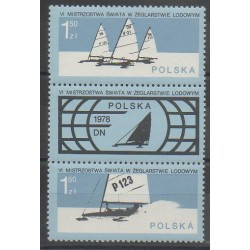 Pologne - 1978 - No 2368/2369 - Navigation - Sports divers