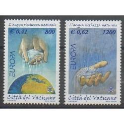 Vatican - 2001 - No 1230A/1230B - Europa