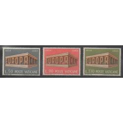 Vatican - 1969 - No 488/490 - Europa