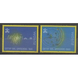 Vatican - 1994 - Nb 984/985 - Science - Europa